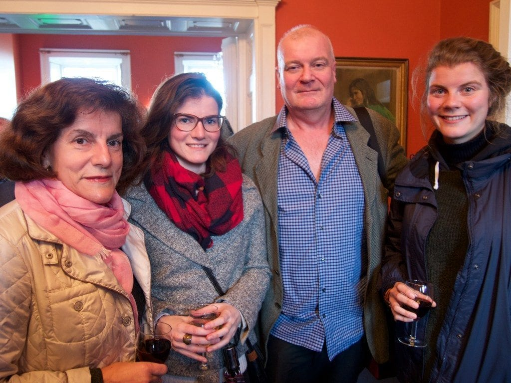 Rita, Kamille, Dermot & Fiona Lally