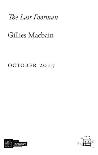 The Last Footman_Filler cover